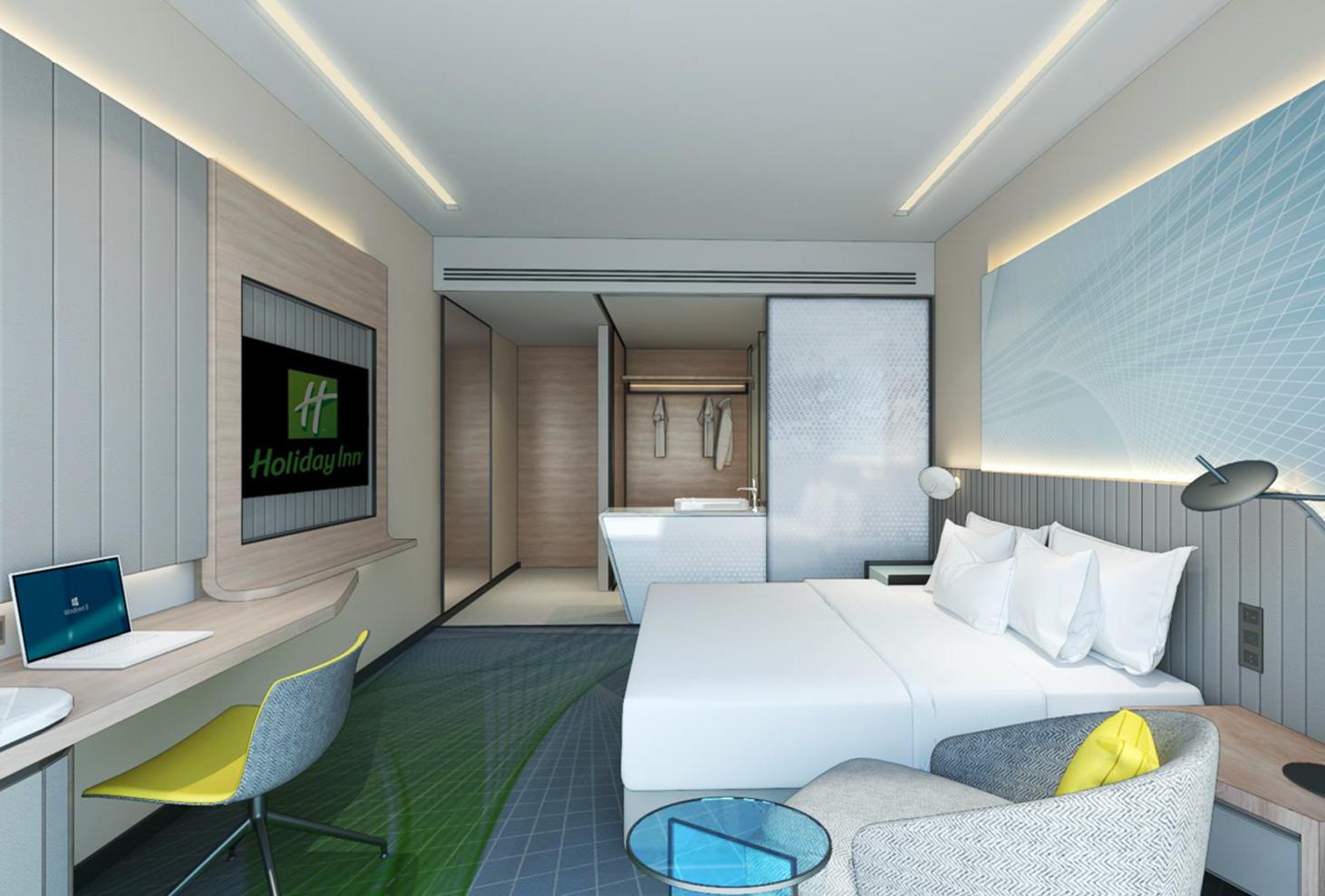 Holiday Inn hotel room located in Alfa Bangsar